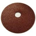 Disque ponçage fibre Ø 125 Oxyde Aluminium Très résistant