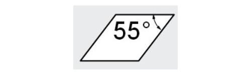 K - Parallélogramme 55°